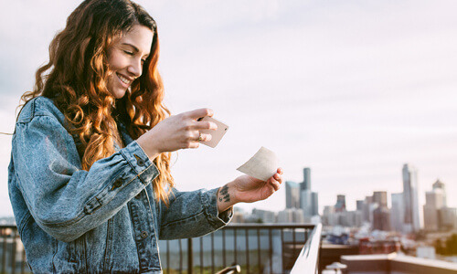 Mobile Deposits: Tell Your Checks to Say Cheese!