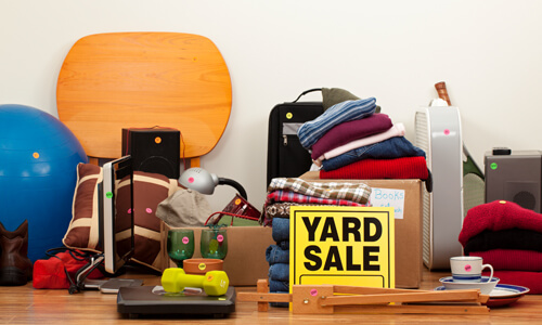 Six Tips for Holding a Profitable Yard Sale