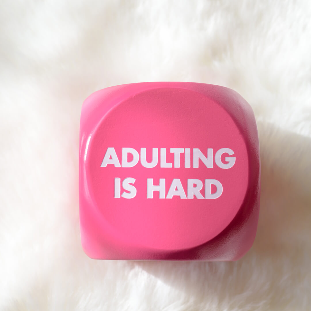 """""""Adulting"""" button"""