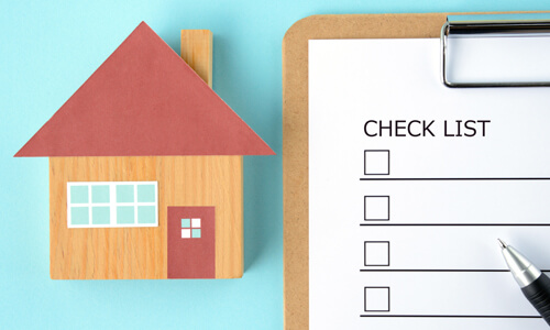 Home inventory checklist for insurance purposes
